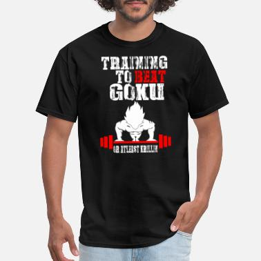 Goku Turtle Goku - Training To Beat Goku Funny Gag Shirt Fro - Men's T-Shirt