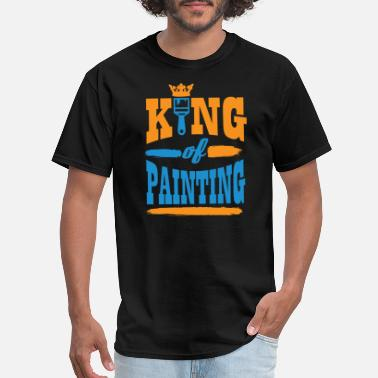 King-of-the-dot Painting - King of painting! - Men's T-Shirt