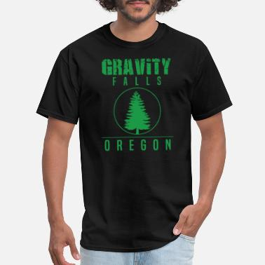 Gravity Falls Gravity Fall - Gravity Falls Oregon Pine - Men's T-Shirt