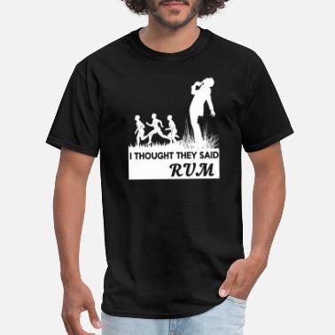 The Mortal Instruments RUM - I THOUGHT THEY SAID RUM - Men's T-Shirt