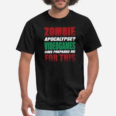 Zombie Videogames Gaming - Men's T-Shirt