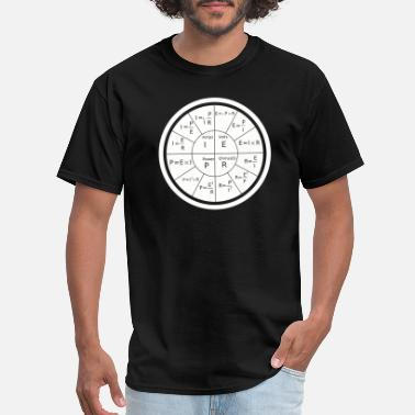 Electricity Electrical - Ohm's Law Electrical Engineering - Men's T-Shirt