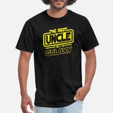 Uncle Uncle - The Best Uncle In The Galaxy - Men's T-Shirt