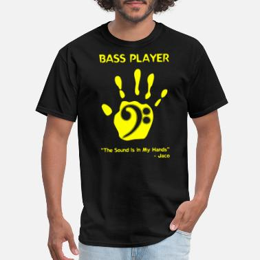 Fucking Rock N Roll Bass Player - Bass Player -- - Men's T-Shirt