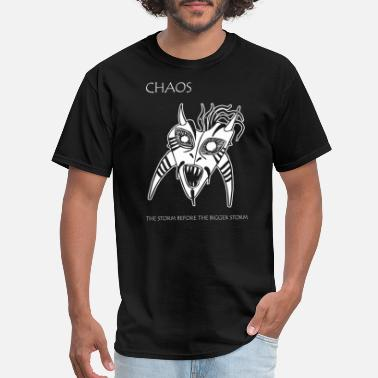 Sto Storm - Chaos -- The Storm Before the Bigger Sto - Men's T-Shirt