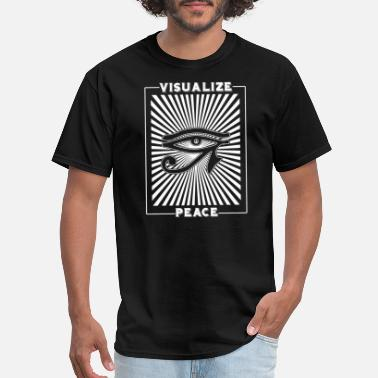 Visualization Visualize Peace - Visualize Peace - Men's T-Shirt