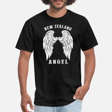 New Zealand Tiki New Zealand angel - Angel's wings - Men's T-Shirt