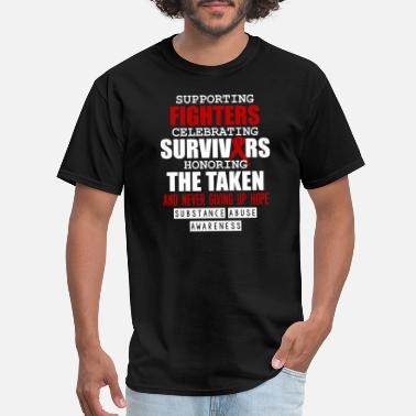 Tit Support Supporting fighters celebrating survivors - Men's T-Shirt
