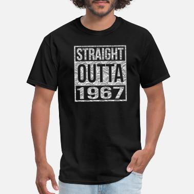 1967 1967 - Straight Outta 1967 50th birthday - Men's T-Shirt