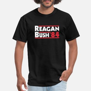 Bushes Of Love Reagan Bush - Reagan Bush '84 - Men's T-Shirt