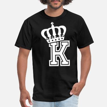 K Line Name: Letter K Character K Case K Alphabetical K - Men's T-Shirt