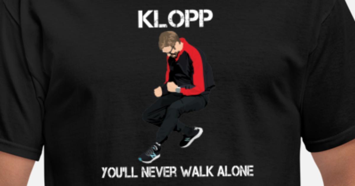 443a89e1b Jurgen Klopp Of Liverpool FC Football Club Team Normal One T-Shirt 5XL Small