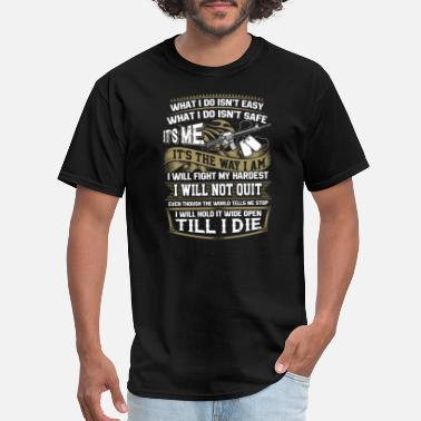 """rogue Trooper"" Trooper - I will hold it wide open till I die - Men's T-Shirt"