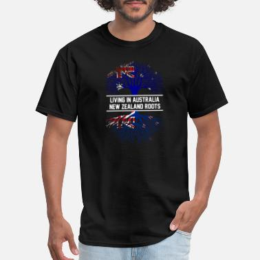 Emirates New Zealand - New Zealand roots living in austr - Men's T-Shirt