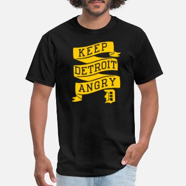 Cool Detroit Detroit - Keep Detroit Angry - Men's T-Shirt