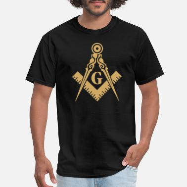 Masonic Masonic - Freemasonry Masonic Square and Compass - Men's T-Shirt
