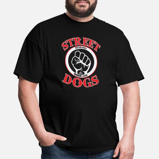35a075995734 Dogs T-Shirts - STREET DOGS Punk Rock Band - Men's T-Shirt black