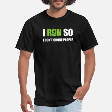 Dexys Midnight Runners Runner - i run so i don't choke people - Men's T-Shirt