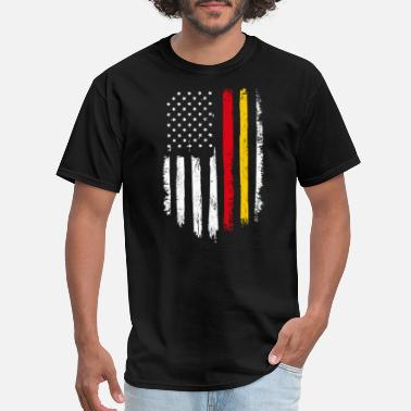 Flags Marines Marines Distressed American Flag - Men's T-Shirt