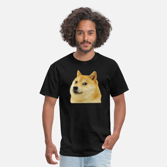 Meme T-Shirts - Doge - Men's T-Shirt black