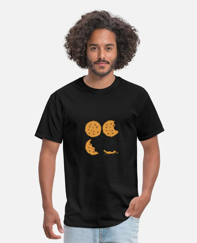 Cookie T-Shirts - Cookie Bites - Cookie - Men's T-Shirt black