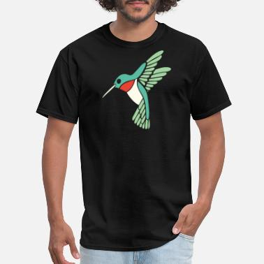 Ticker Hummingbird - dicky ticker hummingbird - Men's T-Shirt