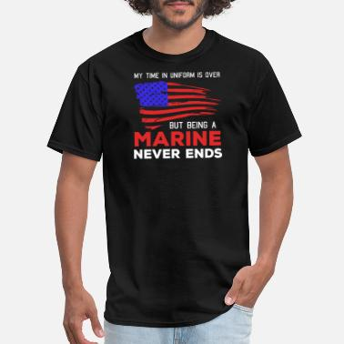 Armed Forces Funny Veteran - marine corps - armed forces marine ve - Men's T-Shirt