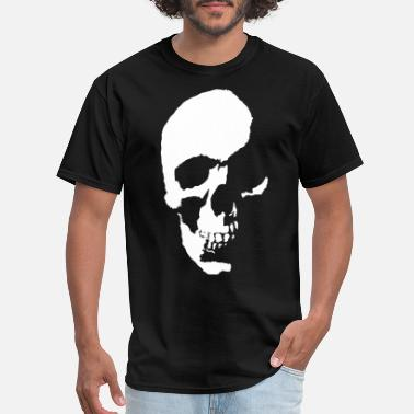 Hollow Skull Head - Men's T-Shirt