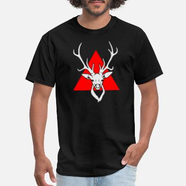 Kids Hipster Deer - Men's T-Shirt