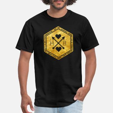 Cool golden hb - Men's T-Shirt