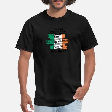 Westport URLAUB irland ROOTS TRAVEL I M IN Ireland Westport - Men's T-Shirt
