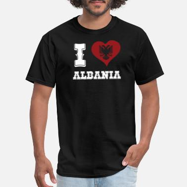 I Love Albania I Love Albania - Men's T-Shirt