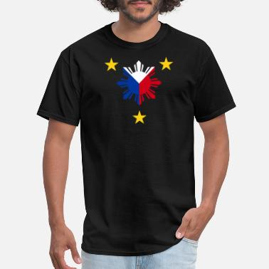 Flag Of Philippines Philippines - philippine flag - philippines sun - Men's T-Shirt