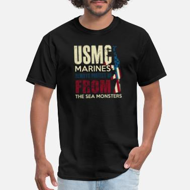 Marinating MARINES - Men's T-Shirt