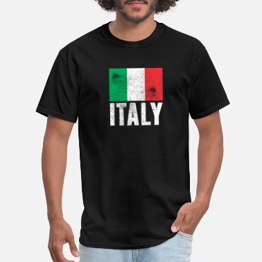Italy Vintage ITALY FLAG VINTAGE - Men's T-Shirt