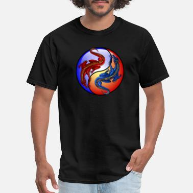 Ice Dragon Fire and Ice Dragons - Men's T-Shirt