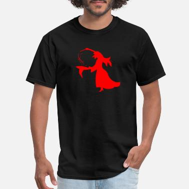 Perform Magic witch performing magic - Men's T-Shirt