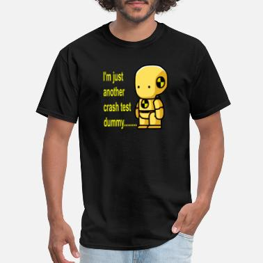 Crash Test Dummy crash test dummy - Men's T-Shirt