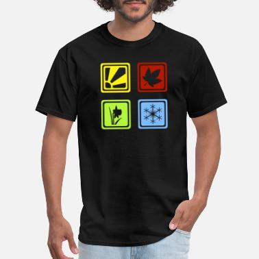 There Are Four Seasons Four Seasons - Men's T-Shirt