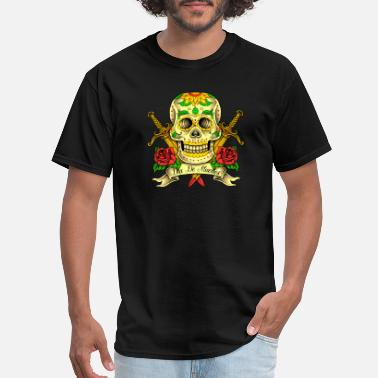 Dead Skull Tattoo Pirate - Men's T-Shirt