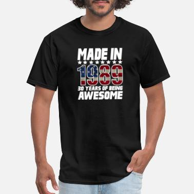 30 Years Of Being Made In 1989 30 Years Of Being Awesome - Men's T-Shirt