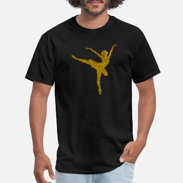Ballerina Golden Ballerina - Men's T-Shirt