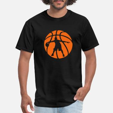 Basketball Inside Bball Crossover - Men's T-Shirt