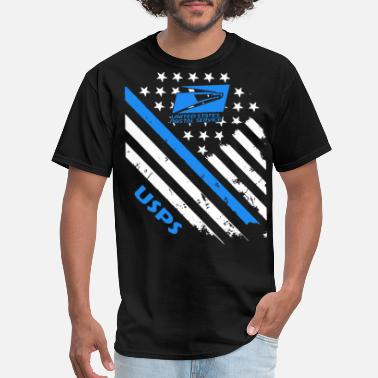 Postal postal worker america - Men's T-Shirt