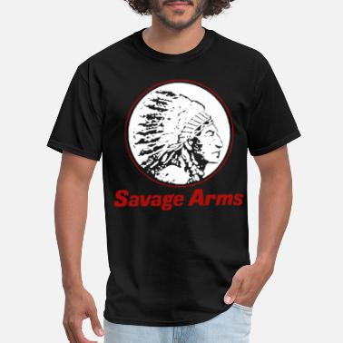 615d945210e40 Savage New Savage Arms Firearms police T Shirts - Men  39 s ...