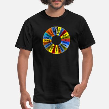 Fortune Wheel of Fortune logo Shirt - Men's T-Shirt