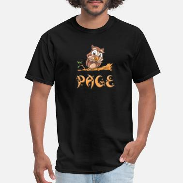 Page Page Owl - Men's T-Shirt