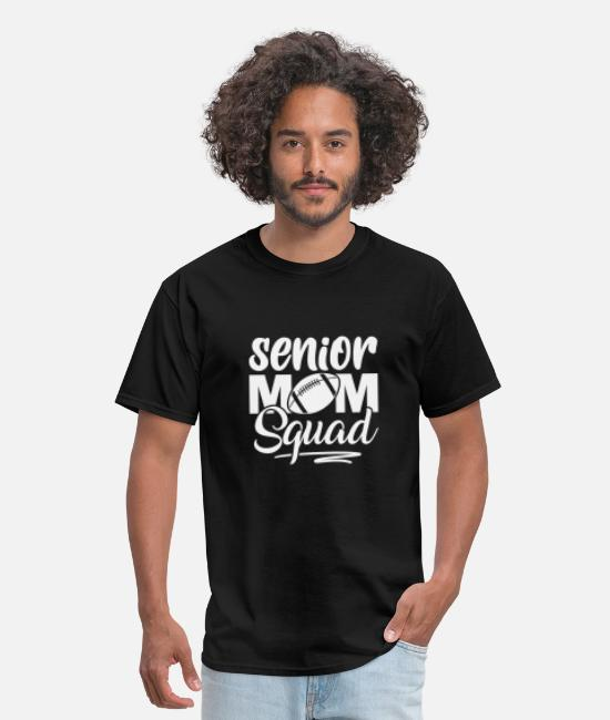 Senior Class T-Shirts - Senior mom squad - Men's T-Shirt black