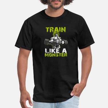 Class Sports Wear Legendary Broly Train Like A Monster T-Shirt - Men's T-Shirt