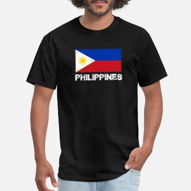 Philippines Flag For Womens Philippines National Pride Filipino Flag Design - Men's T-Shirt